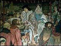 Свадьба Якова IV и Марии Тюдор