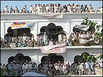 Graduate ceremony at the 'university of jihad' in Pakistan