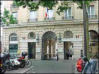 Saint Antoine Hospital in Paris