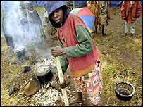 Rwandan refugee   BBC