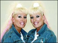 Bbc news health twins have lower suicide risk for Mirror twins
