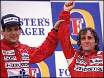 Senna and Prost made a driver line-up that has probably never been surpassed