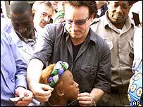 Bono in Ghana