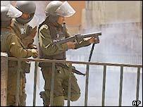 Bolivian riot police