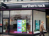 Northern Rock branch - pic from Northern Rock