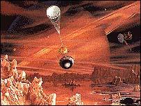 Huygens Titan lander