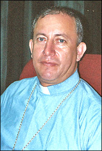 Monseñor Misael Baca, obispo de El Yopal, Casanare, Colombia