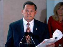 Alabama Supreme Court Chief Justice Roy Moore