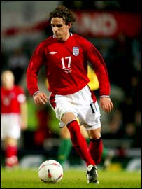England's Owen Hargreaves