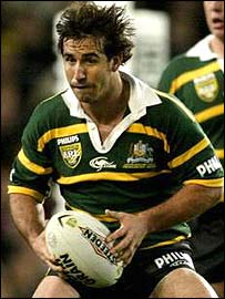 Australia rugby league star Andrew Johns