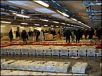 Peterhead fish market   Alex Kirby