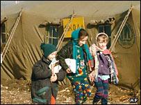 Беженцы в Ингушетии