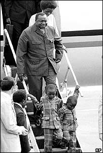 Arriving in New York with his wife and two sons to attend the United Nations General Assembly in 1971
