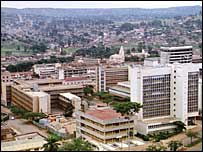 Uganda's capital city