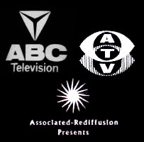 ABC, REDIFFUSION and ATV logos