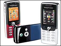 Colour screen mobile phones