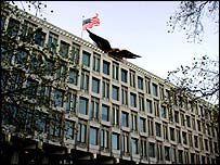 US embassy, London