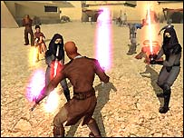Screenshot of Knights of the Old Republic
