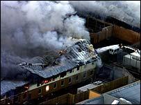 Yarl's Wood centre ablaze