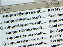 Virus de Windows.