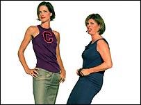 Тринни и Сюзанна, известные язвительными шуточками ведущие программы 'Чего носить не нужно'