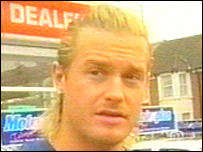 David Beckham lookalike Andy Harmer