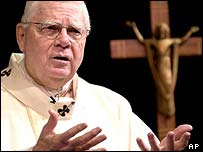 Former Boston Archbishop Cardinal Bernard Law
