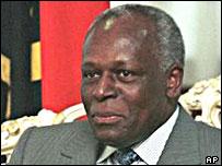 José Eduardo dos Santos, current president of Angola