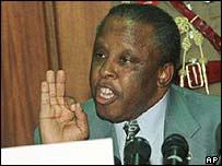 Botswanan president