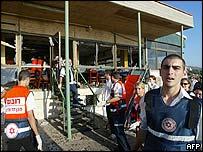 Scene of the Haifa attack