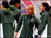 Milene Domingues, esposa del futbolista brasilero Ronaldo.