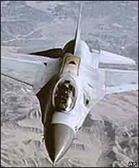 Самолет F16