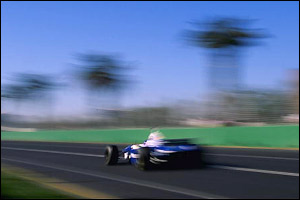 Villeneuve gets pole in his first GP but has to settle for second in the race