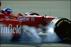 Villeneuve endures a poor 1998 in an under-performing Williams