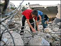 Hanadi Tayseer Jaradat's family's home