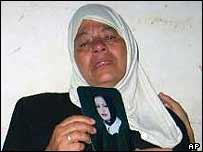 Hanadi Tayseer Jaradat's mother