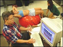 Dr Raymond Chong during the study