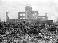 Aftermath of the Hiroshima bombing