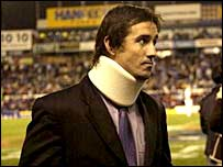 Australia captain Andrew Johns