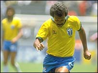 Junior was a Brazilian legend in the 1980s