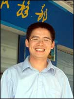 Zeng Feiyang, director of the Migrant Workers Documentation Centre
