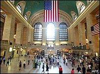 New York's Grand Central Station during the morning commute