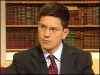Schools Minister, David Miliband MP