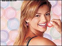 Campa�a publicitaria del Ministerio de Salud de Brasil para el carnaval 2003