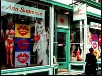 Ann Summers Changing Rooms