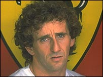 Alain Prost was as intelligent as he was fast