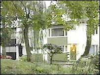 Antanas Rekasius's apartment block (image: Lithuanian TV)