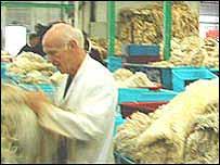 Bradford wool depot