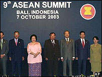 Leaders of Asean countries gather under summit banner