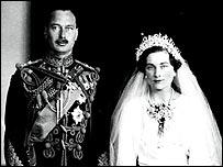 The Duke and Duchess's wedding  photograph